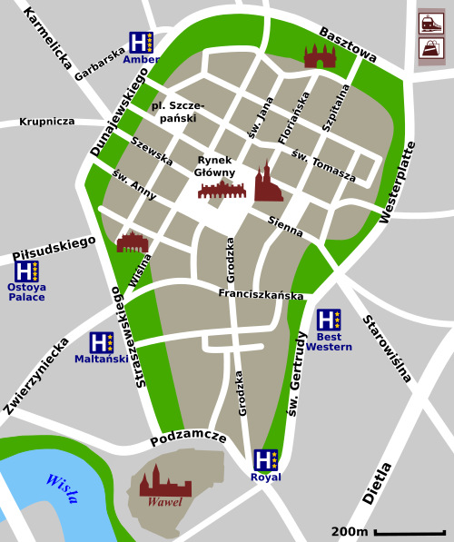 Hotels in Old Town Krakow