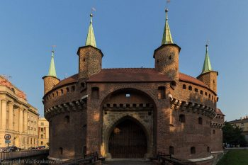 Barbican Outer Gate, Krakow