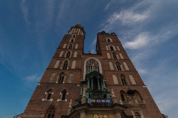 Towers of St Mary's Church, Main Square, Krakow