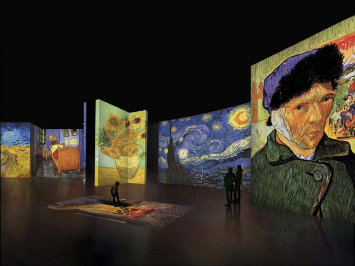 Exhibition of van Gogh's paintings