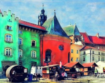Cracow Architecture by Justyna JBJart